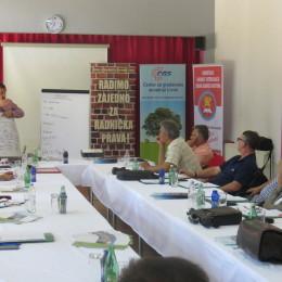 Održana obuka o razvoju i pisanju projekata za sindikate i NVO