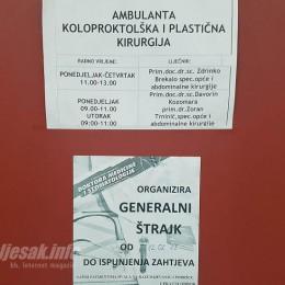 Liječnici obustavljaju štrajk
