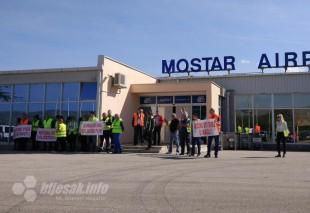 Zračna luka Mostar: Radnici spremni na totalnu blokadu