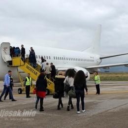 Štrajk radnika Zračne luke Mostar