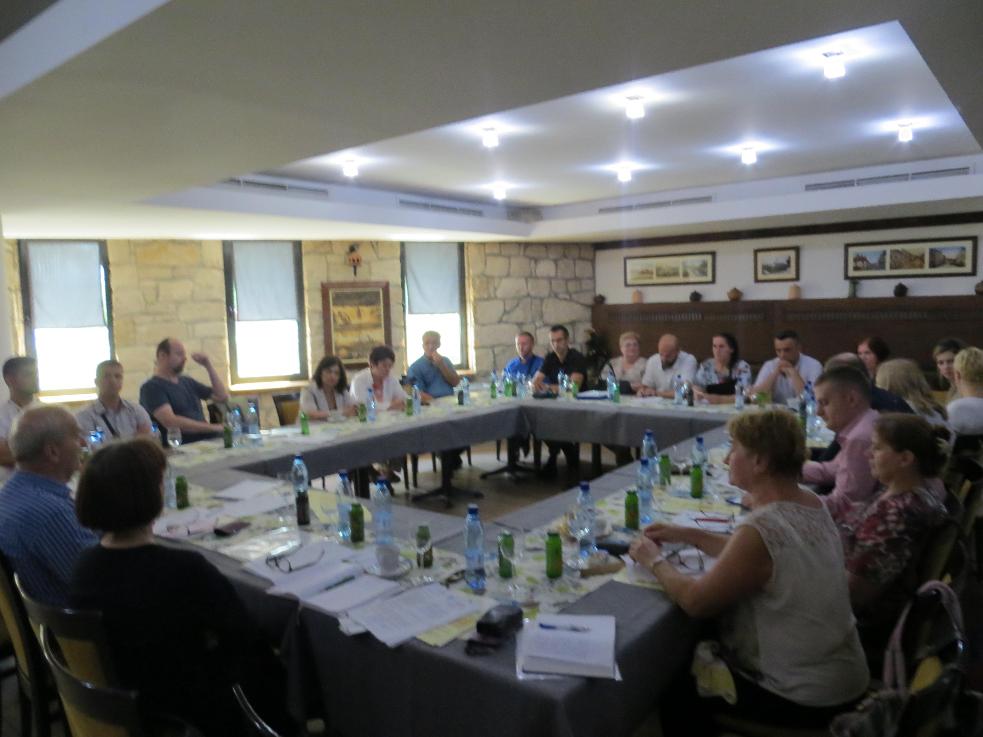 """Kantonalni sastanak u okviru teme """"Suradnja sindikata i institucija- bolja zaštita prava radnika"""""""
