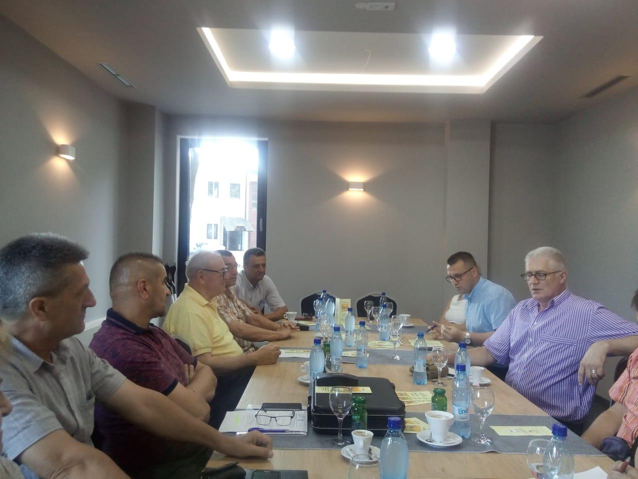 """U Bihaću održan sastanak na temu: """"Socijalni dijalog i međusobno uvažavanje socijalnih partnera"""""""