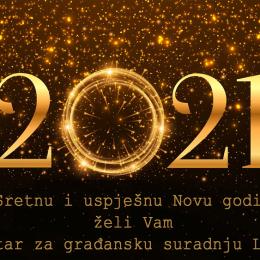 Centar za građansku suradnju Livno: Novogodišnja čestitka